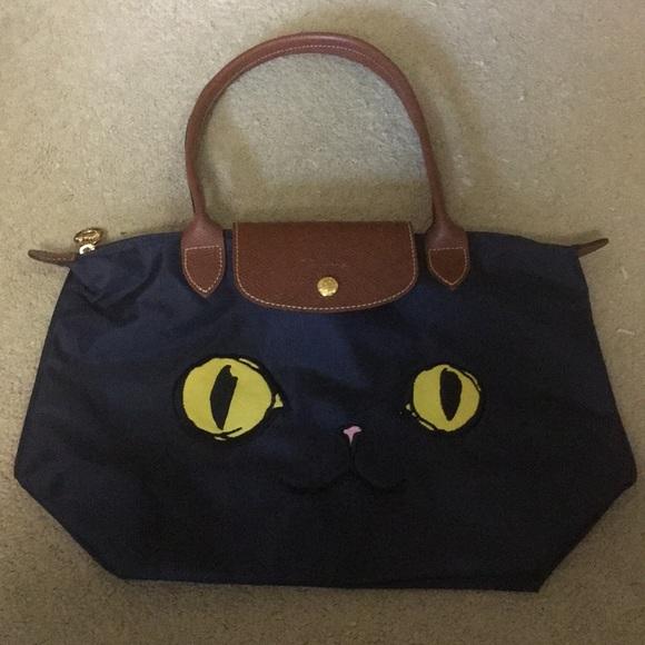 2226689bed14 Longchamp Handbags - New Ltd Ed Longchamp Miaou Le Pliage Tote